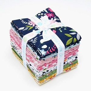 Riley Blake Designs - In The Meadow - Fat Quarter Bundle of 21 Pieces
