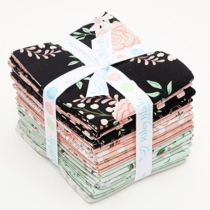 Riley Blake Designs - Bliss - Fat Quarter Bundle of 21 Pieces