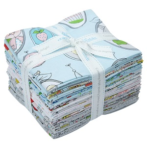 Riley Blake Designs Hubert and Sorrel Fat Quarter Bundle of 18 Pieces
