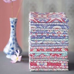 Tilda Bon Voyage Fat Quarter Bundle of 20 fabrics