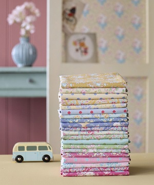 Tilda Happy Campers Fat Quarter Bundle of 20 fabrics