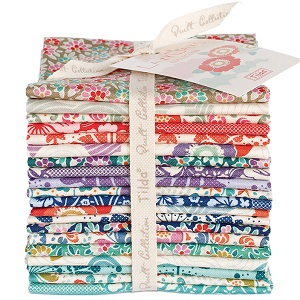 Tilda LazyDays - Fat Eighth Bundle of 20 fabrics