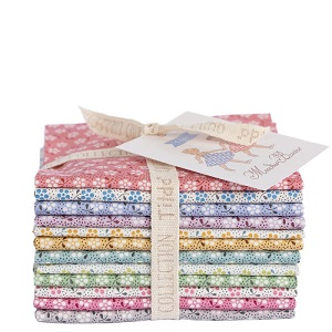 Tilda Meadow Basics Fat Eighth Bundle of 12 fabrics