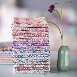 Tilda Plum Garden - Fat Quarter Bundle of 20 fabrics