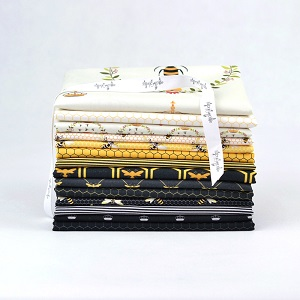 The Devonstone Collection Queen Bee Fat Quarter Bundle of 14 Pieces
