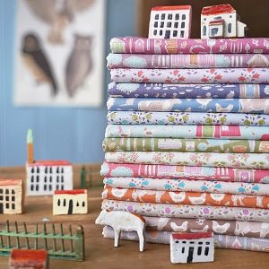 Tilda Maple Farm Tiny Farm Fat Quarter Bundle of 15 fabrics