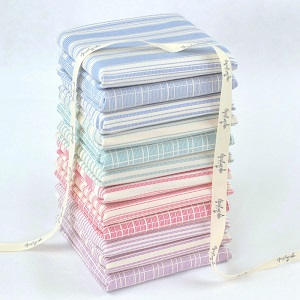 Tilda Tea Towel Basics - Fat Quarter Bundle of 12 fabrics