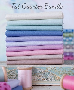 Tilda - Basics Solids - Fat Quarter Bundle of 10 fabrics