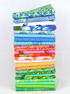 Tula Pink - Zuma - Fat Quarter Bundle of 24 Pieces