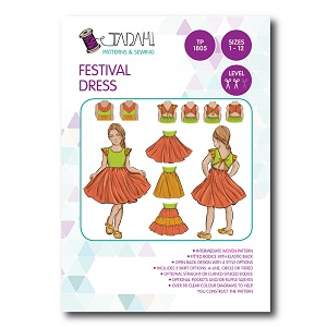 Tadah Patterns - Festival Dress Pattern