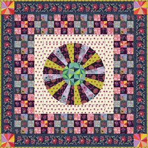 Anna Maria's Conservatory Chapter Four Flower Market Quilt Kit