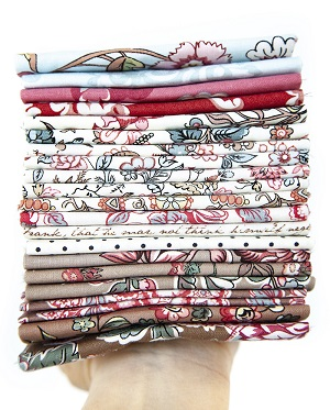 Riley Blake Designs Jane Austen at Home Half Metre Bundle of 20 Pieces *** SIGN UP TO BE NOTIFIED ONCE BACK IN STOCK ***