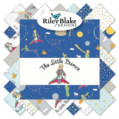 Riley Blake Designs - The Little Prince - Half Metre Bundle of 18 Pieces
