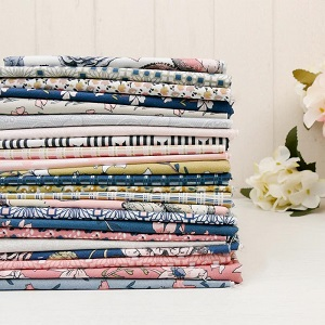 Penny Rose Fabrics - Sweet Stems - Half Metre Bundle of 24 Pieces