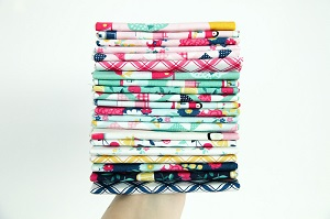 Riley Blake Designs - I'd Rather Be Glamping - Half Metre Bundle of 21 Pieces