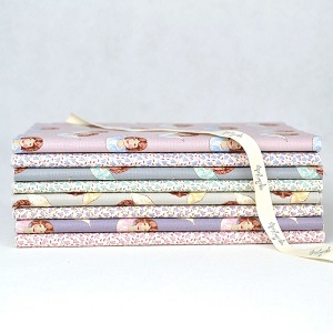 Tilda Old Rose Seasonal Extras Angel Scraps and Sophie Co-ordinates Half Metre Bundle of 8 fabrics