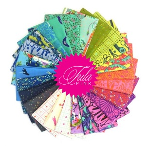 Tula Pink HomeMade Fat Eighth Bundle of 25 Pieces