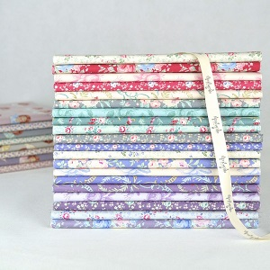 Tilda Old Rose Half Metre Bundle of 20 fabrics