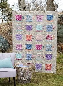 Tilda Bird Pond Hot Chocolate and Marshmallows Quilt Kit (Fabric Only Kit)