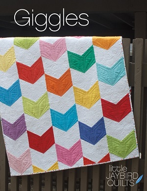 Jaybird Quilts Giggles Baby Quilt Pattern