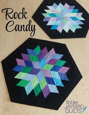 Jaybird Quilts Rock Candy Table Topper Mini Pattern