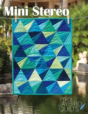 Jaybird Quilts Mini Stereo Pattern