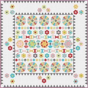 Sue Daley Designs - Duke Road Quilt