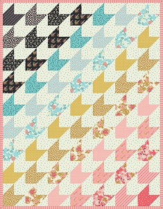 Riley Blake Designs Faith Hope and Love Forever Quilt Kit