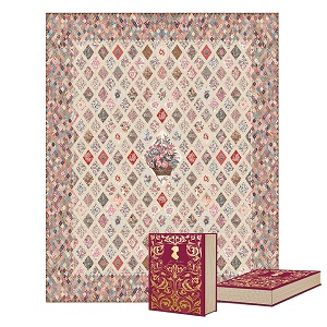 Riley Blake Designs Jane Austen at Home Coverlet Quilt Kit *** PRE-ORDER - STOCK ARRIVING IN JUNE ***
