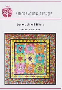 Veronica Appleyard Designs - Lemon Lime and Bitters Quilt Pattern
