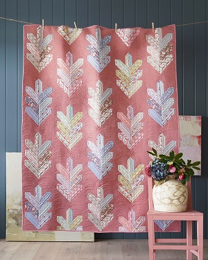 Tilda Maple Farm Leaf Quilt Kit in Terracotta