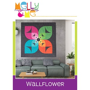 Melly and Me Wallflower Quilt Pattern