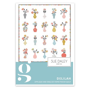 Riley Blake Designs Petals and Pots Delilah Quilt Pattern