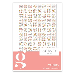 Riley Blake Designs Petals and Pots Trinity Quilt Pattern