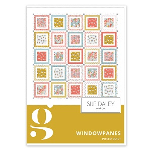 Riley Blake Designs Petals and Pots Window Panes Quilt Pattern