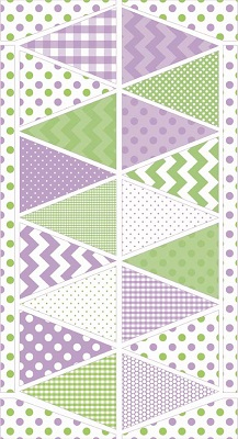 Riley Blake Designs - Bunting Panel Easter