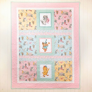 Penny Rose Fabrics Perfect Party for Three Friends Quilt Kit