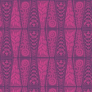 Anna Maria's Conservatory Chapter Two Second Nature Dresden Lace in Fuchsia
