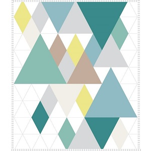 Baby On Trend Quilt Kit in Woodland
