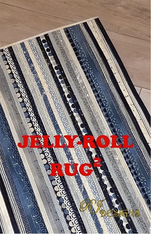 RJ Designs - Jelly Roll Rug 2