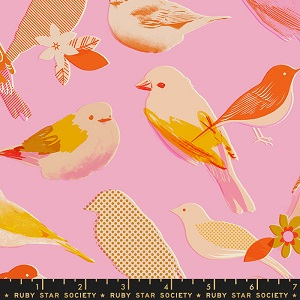 Ruby Star Society Social Peony Birds *** PREORDER ARRIVING END JULY ***