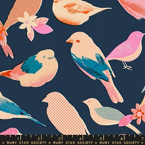 Ruby Star Society Social Navy Birds *** PREORDER ARRIVING END JULY ***