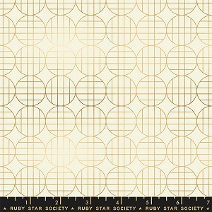Ruby Star Society Stellar Moon Grid in Gold with Metallic Accents
