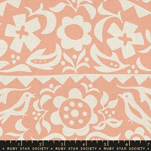 Ruby Star Society Alma Market Floral in Peach