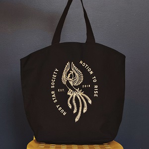 Ruby Star Society Notion To Rise Tote Bag *** PRE-ORDER - ARRIVING END OF AUGUST 2019 ***