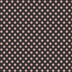 Riley Blake Designs - Bliss Dots in Black with Rose Gold Metallic Sparkle