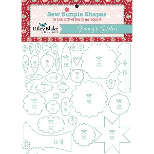 Riley Blake Designs - Sew Simple Shapes Granny's Garden by Lori Holt