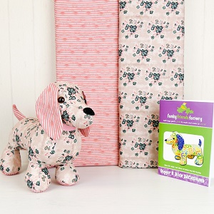 Snags the Dog Softie Kit - Pink