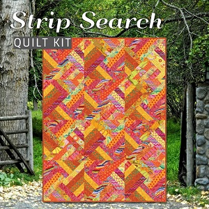 Strip Search Quilt Kit - Featuring Kaffe Fassett Classics in Citrus