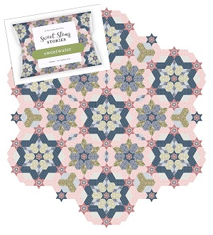 Sue Daley Designs - Sweetwater Quilt Pattern, Template and Paper Pieces Pack